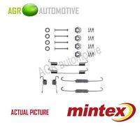 MINTEX REAR BRAKE SHOES SET FITTING KIT PIN SPRINGS GENUINE QUALITY - MBA674