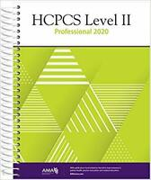 HCPCS 2020 Level II, Professional Edition / Edition 1 by AMA