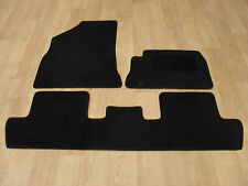 Peugeot 5008 (2010-17) Fully Tailored Car Mats in Black 3 Piece Set