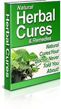Natural Herbal Cures & Remedies - eBook w/Resell Rights- Worldwide Free Shipping