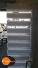 Klemmfix Doppelrollo 80 x 160 cm Farbe weiss von Sunfree
