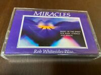 Rob Whitesides-Woo~Miracles~Cassette~Harp~New age spiritual Relax~FAST SHIPPING