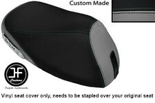 GREY & BLACK VINYL CUSTOM FITS YAMAHA YH 50 WHY FRONT RIDER SEAT COVER ONLY