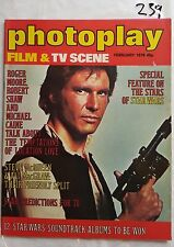 PHOTOPLAY,1978 FEB,STAR WARS HANS SOLO HARRISON FORD Cover,FARRAH FAWCETT