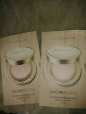 AMORE PACIFIC AGRE CORRECTING FOUNDATION CUSHION 6 COLORS + SUNSCREEN , x 2 pcs