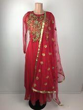 $60 Retail $799 Wedding Reception Indian Anarkali Suit with heavy Dupatta