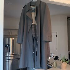 Christian Dior Men's Trench Coat 44R Belted, Buttons, Removable Lining Near Mint