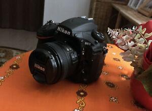 Nikon D810 36.3MP Full-Frame DSLR Camera Body  - Black