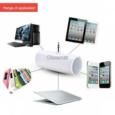 New Portable 3.5mm Mini Stereo Speaker For iPhone 5 4 4S Samsung iPod MP3 MP4 OK
