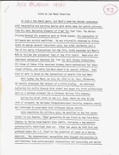 SYD MEAD original 26 page uncut 1984 interview transcript - 2010, Star Trek TMP
