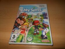 My Sims Wii NINTENDO  NEW SEALED PAL