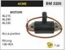 BOBINA ELETTRONICA MOTOCOLTIVATORE CON MOTORE ACME AL 215 290 330 acc. puntine