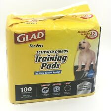 Glad for Pets Activated Carbon Puppy Training Pad 100-Count (Open Box)