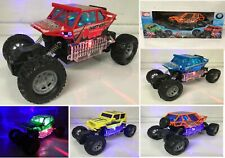 MONSTER TRUCK BUGGY JEEP RC REMOTE CONTROL CAR FAST SPEED LED LIGHTS 6 COLOURS