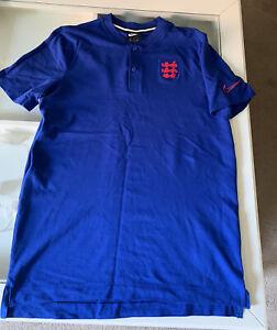 England Nike Polo Shirt Large