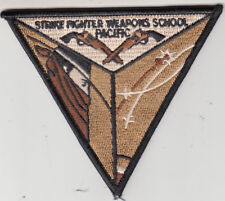 STRIKE FIGHTER WEAPONS SCHOOL PACIFIC DESERT COMMAND CHEST PATCH