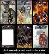 Fallen Son: The Death of Captain America 1 2 3 3 4 5 Marvel 2007 Complete Set VF