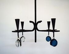 Erik Höglund for Kosta Boda. Sweden 60 / 70s. Four armed chandelier