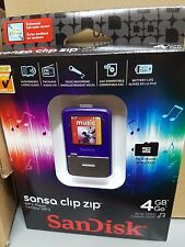 SanDisk Sansa Clip Zip Lila (4GB) Digital Media Player