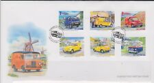 GB - GUERNSEY 2013 The Postman's Van/Postal Vehicles/Europa 13' SG 1457-1462 FDC