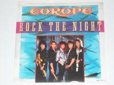 EUROPE Rock The Night 45 80's Metal Aussie Press PIC SLEEVE