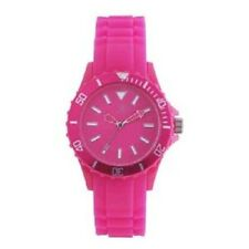 Reflex Hot Pink Silcone Strap Ladies Sports Watch SR007