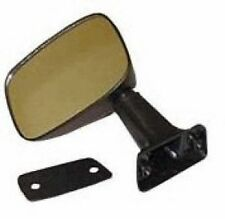 Fits 84-86 Toyota Pickup Manual Black Door Mirror - Driver Side Left