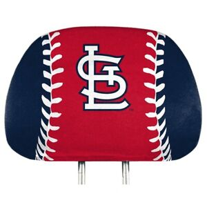 St Louis Cardinals Printed Headrest Covers
