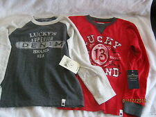 two kids t-shirts lucky brand size 7