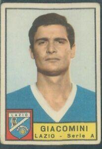 R@R@ FIGURINA PANINI COLLEZIONE 1963/64*LAZIO- GIACOMINI-REC