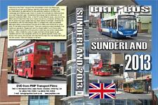 2643. Sunderland. UK. Buses. August 2013. The bus station and approach roads on