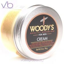 WOODY'S Quality Grooming For Men Cream - Flexible Control For Curly, Wavy Hair