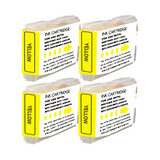 4 Yellow Replacement Ink for LC51Y Brother MFC-230C MFC-240C MFC-440CN 465CN