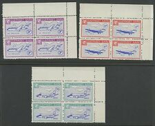 Guernsey SARK 1966 Europa OVPTS MISSING ERROR x3 blocks