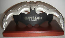 DC COMICS BATMAN Official BATARANG 1:1 PROP REPLICA MIB Statue DARK KNIGHT RISES
