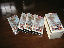 LONESOME DOVE Rovert Duvall Tommy Lee Jones VHS 4 Tape Boxed FREE SHIP CANADA