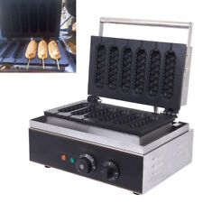 Elektro Cooking Waffeleisen Waffelsticks 6 Pcs Waffelgerät Knusprig Professional