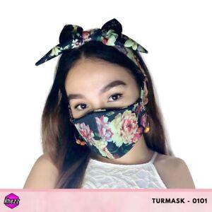 Rhezz Turmask Set (Turban & Facemask) TM#0101 Wholesale