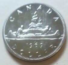 1969 Canada SPECIMEN/PL One Dollar Coin. BRI. UNC. (RJ608)