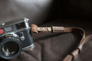 Genuine Real Leather Camera Shoulder Neck Strap for film EVIL camera 01-140