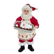 Kurt Adler Fabriché Santa With Santa Face Cake FA0124 Christmas Figurine