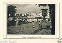 Versailles Kunstdruck von 1912 Rudolf Hellwag * Innsbruck † Berlin Frankreich -