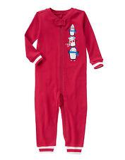 NWT Gymboree Penguin Christmas Holiday Gymmies Pajamas PJs Toddler Boy size 2T