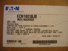 Eaton ECN1801BJB ECN 1801 BJB Enclosed Line Control Switch Box NEW