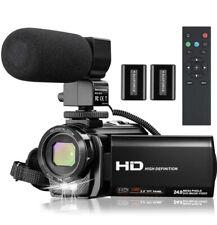 Video Camera Camcorder Full HD 1080P 30FPS 24MP Camera 16x zoom VLogging Camera
