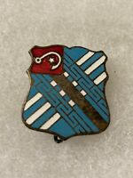 Authentic WWII US Army 18th Field Artillery Regiment DI DUI Insignia Unit Crest