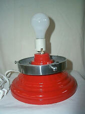 "GAS PUMP GLOBE LIGHT STAND with cord & 6"" Polished Aluminum AdaptorFREE SHIPPING"