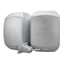 Vision SP-1300 70w Passive 2-Way Wall Mount Speaker System Speakers Pair White