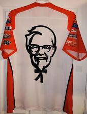David Ragan KFC Kentucky Chicken Nascar Pit Crew Shirt Front Row Ford Racing