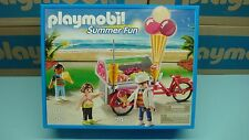 Playmobil Ice Cream Cart 5962 series vacation time mint in Box sealed geobra 183